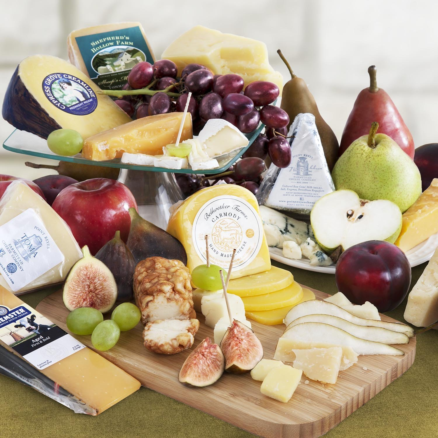 Golden State Fruit Monthly Fruit and Cheese Club (Premium Version) - 12 Month Club