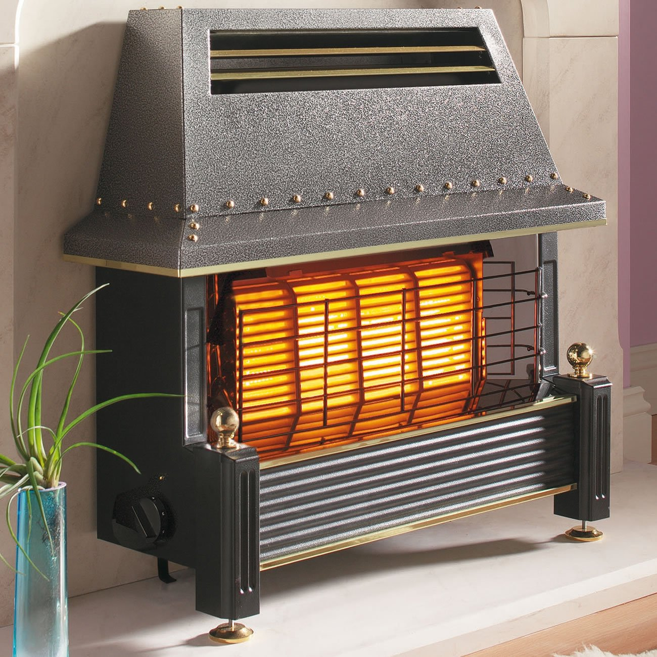 Outset Fireplace - Regency Style - Bronze: Amazon.co.uk: Kitchen & Home