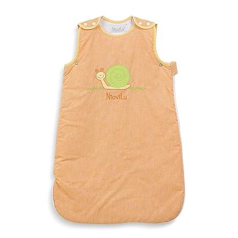 NioviLu Saco de dormir para bebé - Escargot rigolo (0-6 meses / 70