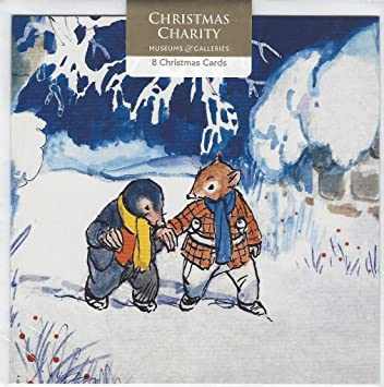 Charity christmas cards by museums galleries ratty mole in the charity christmas cards by museums galleries ratty mole in the snow supports m4hsunfo