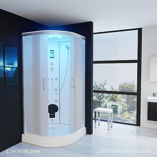 troni técnica Vapor ducha ducha montado ducha cabina de ducha de ...