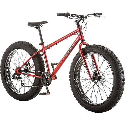 Sonderrabatt heiße Produkte USA billig verkaufen Mongoose Hitch Men's Fat Tire Bicycle, Red, 26