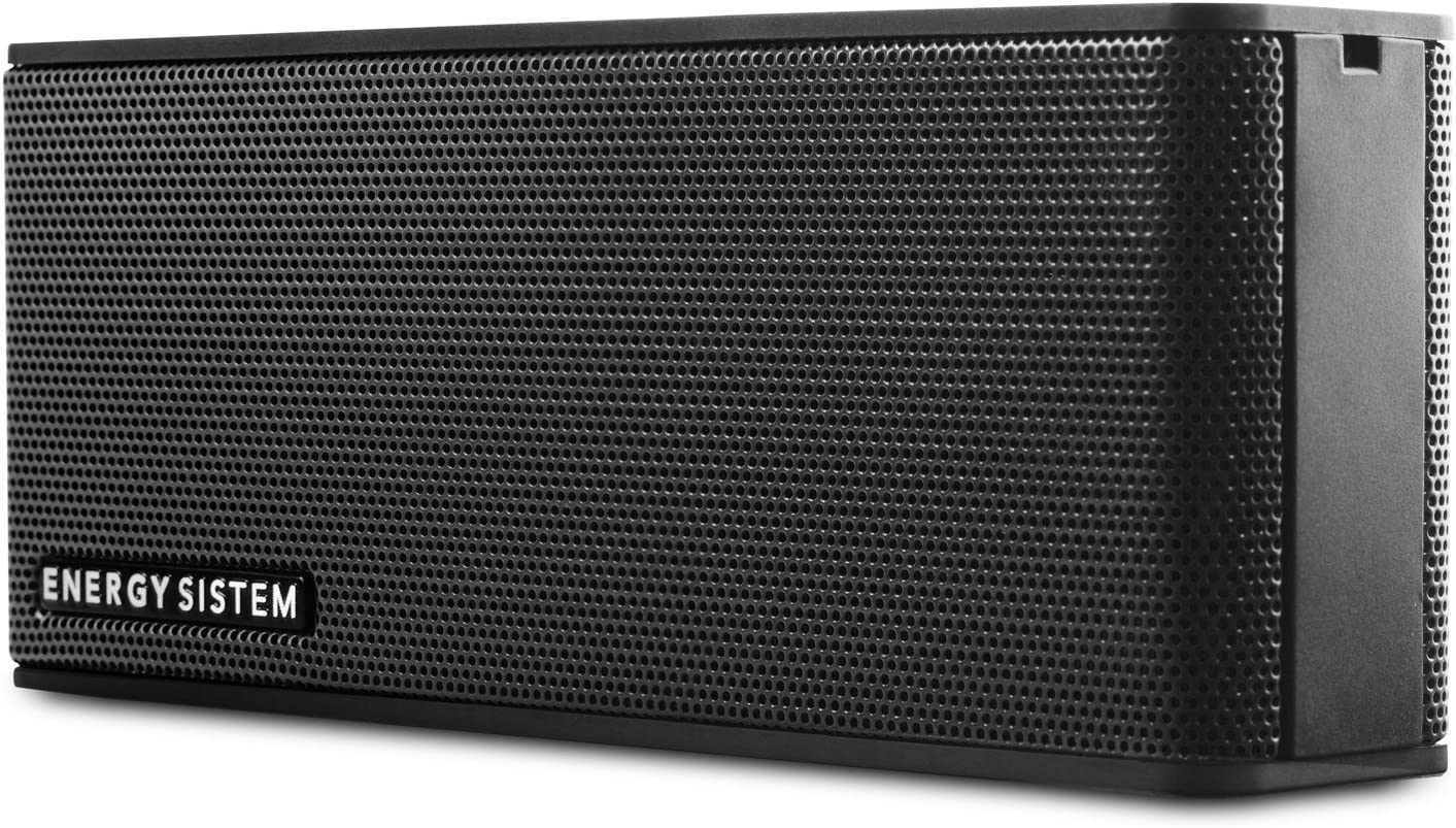 Energy Sistem Music Box B2 Bluetooth Black (Bluetooth, Entrada de Audio, Manos Libres, Batería)- Negro