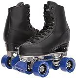 Chicago Men's Classic Roller Skates - Premium Black Quad Rink Skates - Size 11