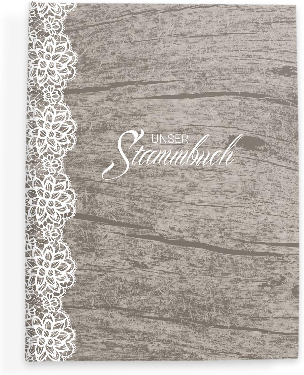 bigdaygraphix Stamm Libro de Familia de Familia Libro Vintage & Punta: Amazon.es: Juguetes y juegos