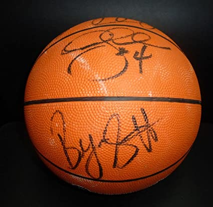 innovative design feeb9 1bddd Dennis Rodman Byron Scott Derek Fisher Signed Lakers ...