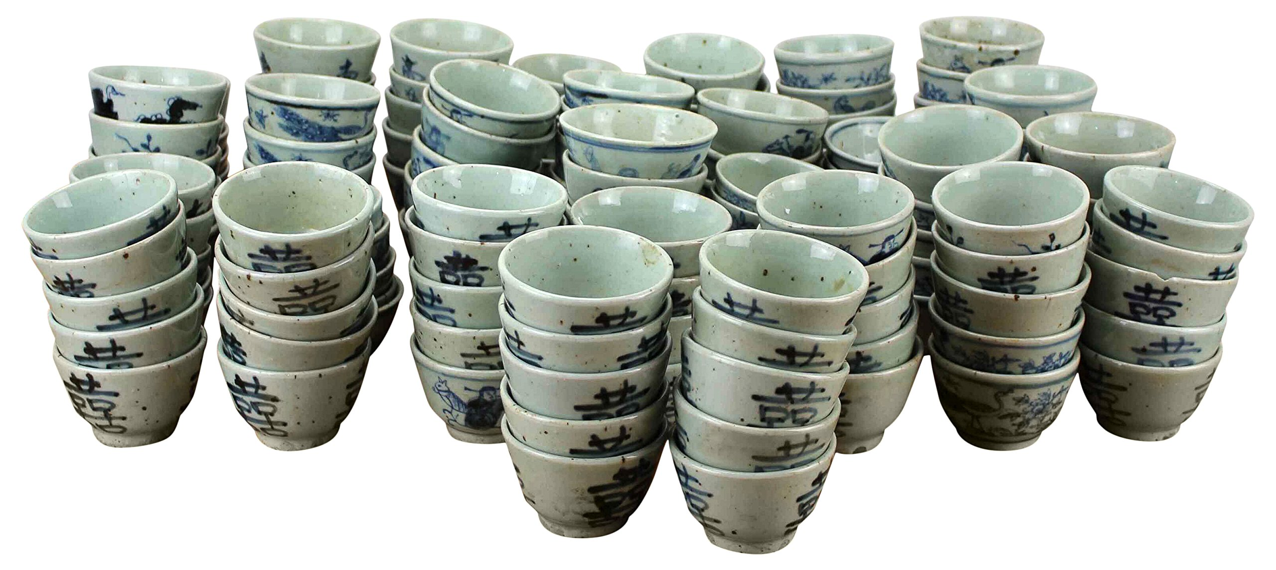 Sarreid SA-AN018 Collection of 316 Cups