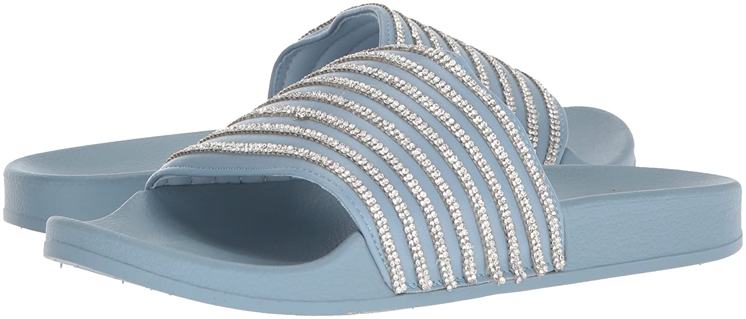 Kenneth Cole REACTION Women's Pool Game Sporty Sporty Sporty Slide Sandal with Thin Stripes 6 M US|Storm B077KX7KCL 7b17e5