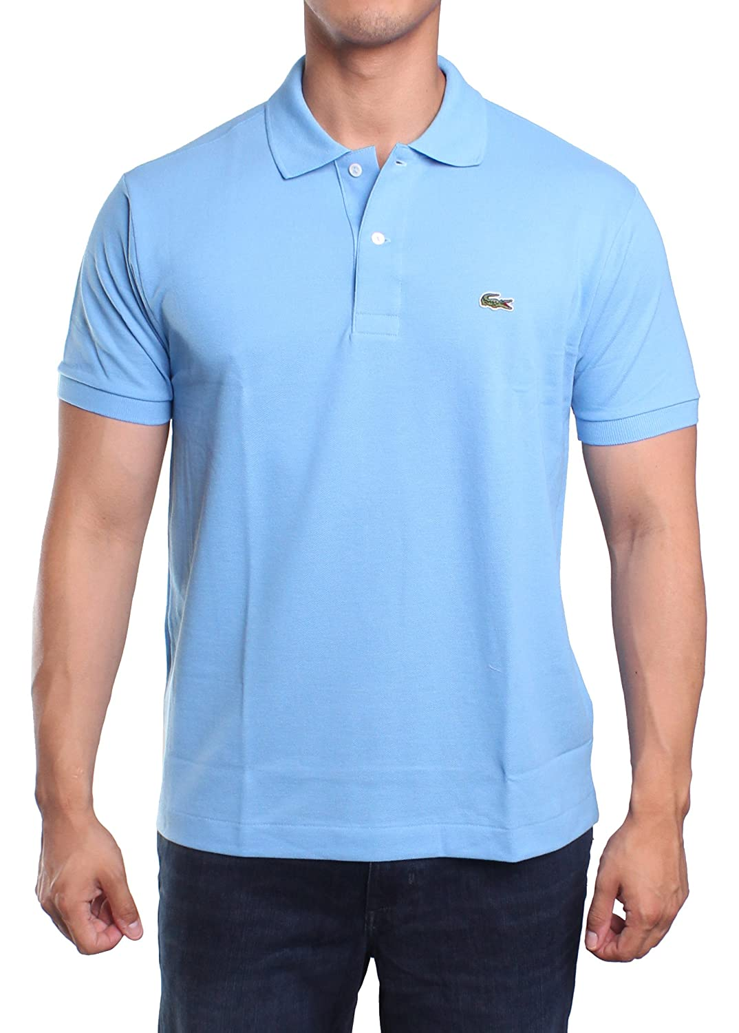 17d126ae6 Lacoste Men s Short Sleeve Pique L.12.12 Classic Fit Polo Shirt ...