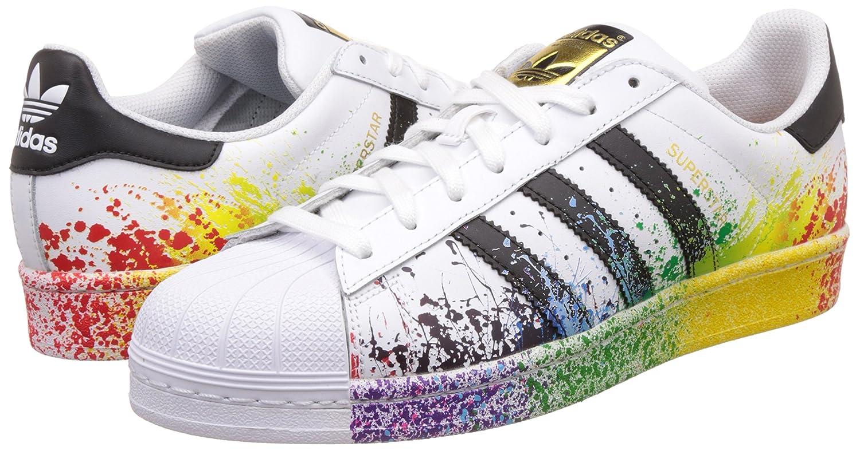 promo code 1bd21 c95f4 Adidas Originals Superstar Pride Pack D70351 Lgbt Rainbow ...