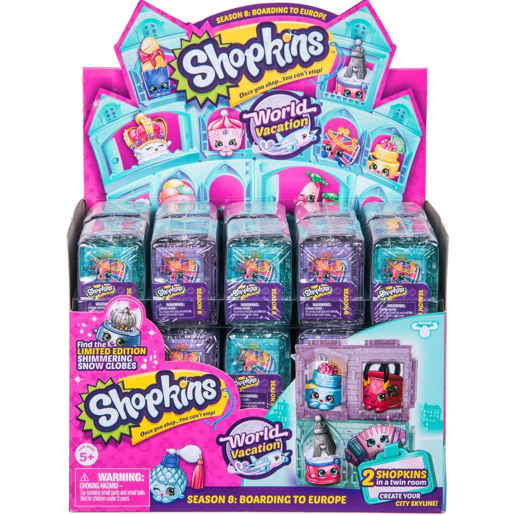 Case of 30 Shopkins Season 8 World Vacation 2-Pack