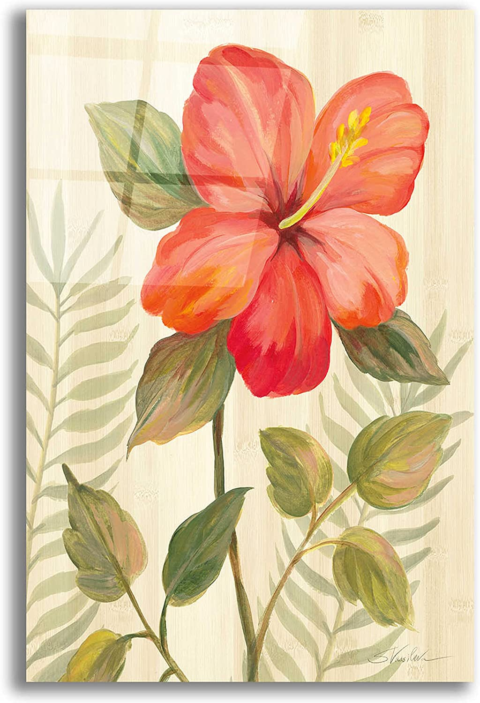 Epic Art 'Tropical Garden XI' by Silvia Vassileva, Acrylic Glass Wall Art, 12