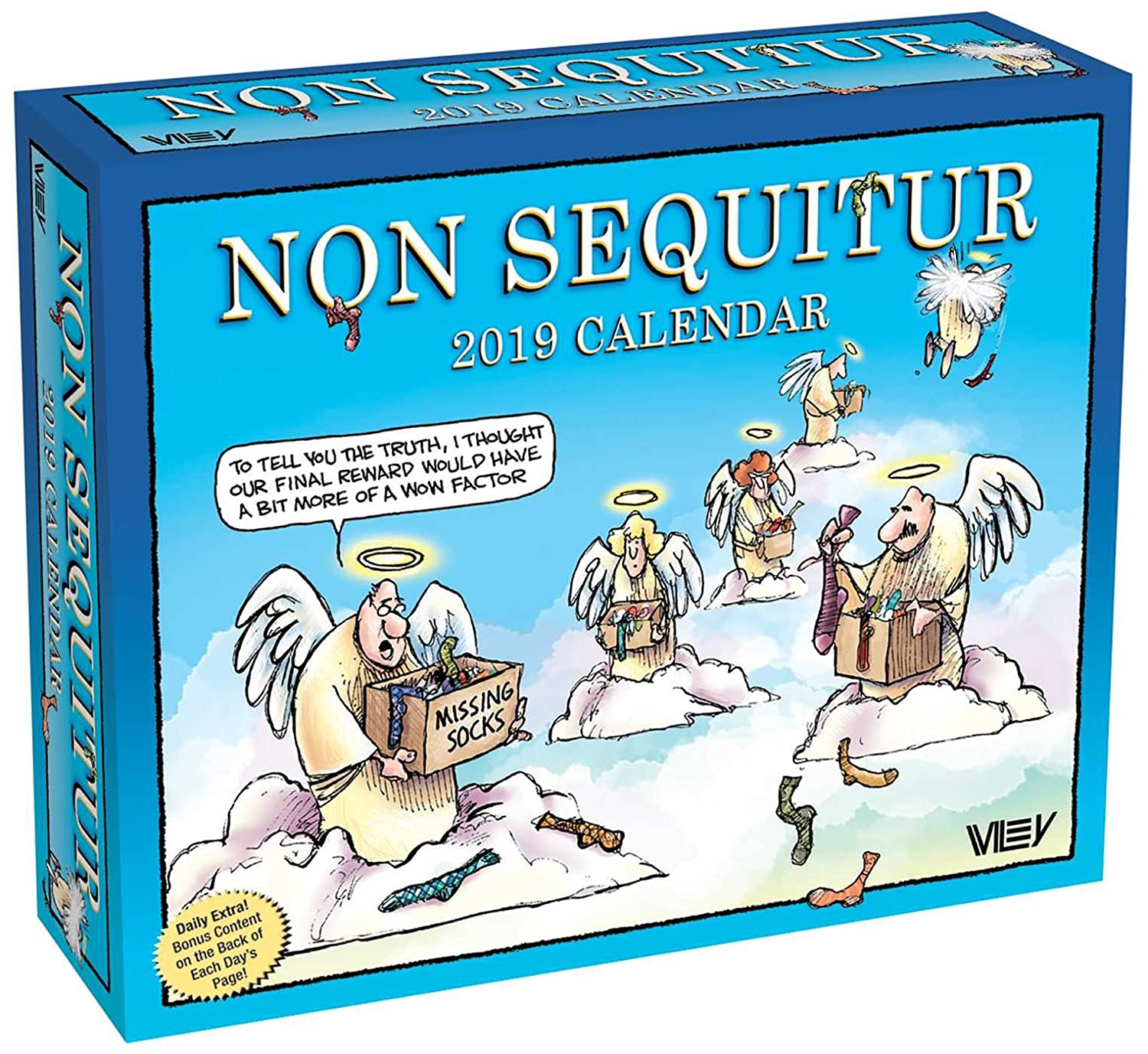 Non Sequitur 2019 Day-to-Day Calendar Wiley Miller Andrews McMeel Publishing 1449491847 Calendars