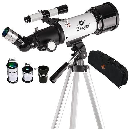 Review Gskyer Telescope, AZ70400 German Technology Astronomy Telescope, Travel Refractor