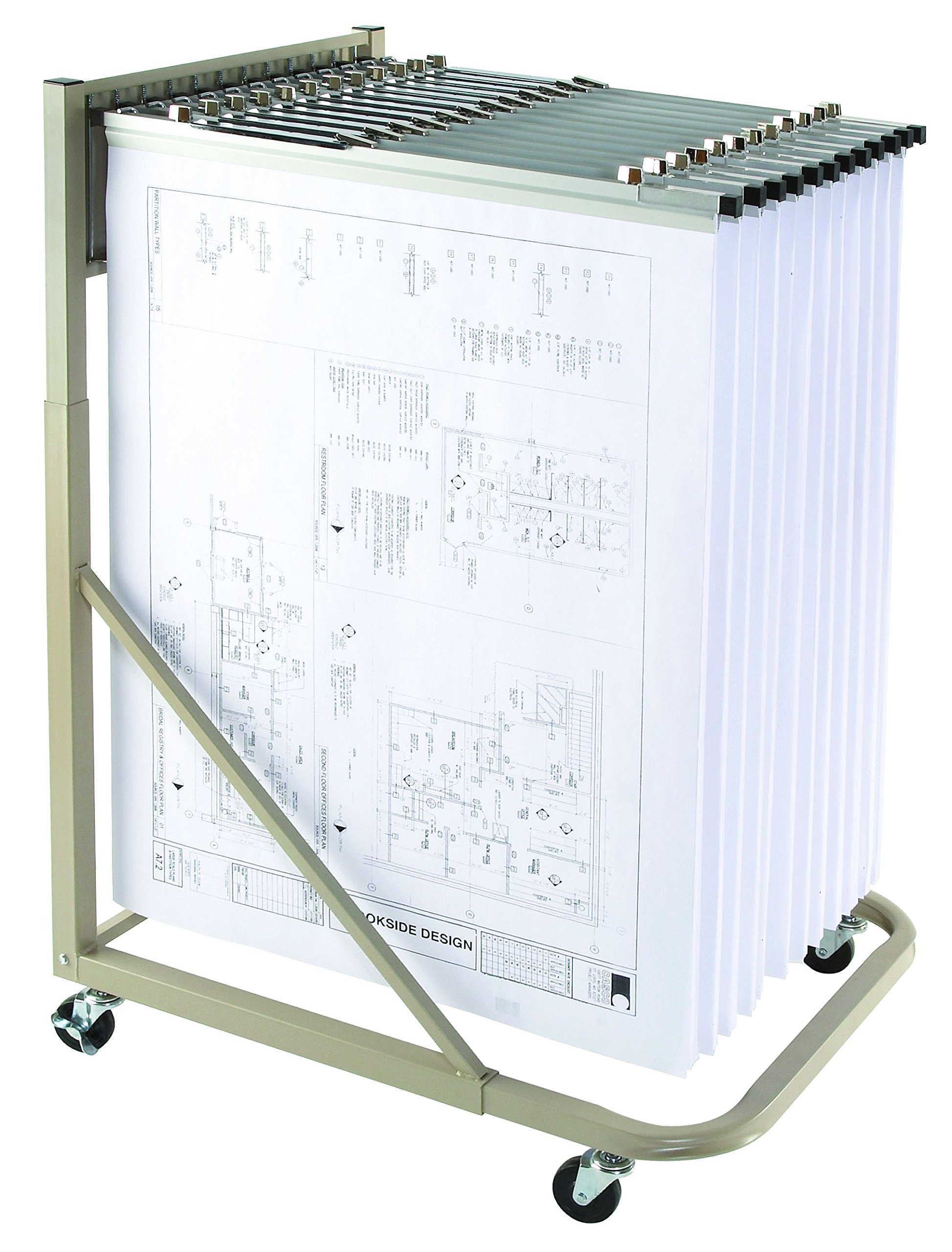 Mayline 9329H Rolling Stand for Blueprints - This is a Brookside Design Replacement
