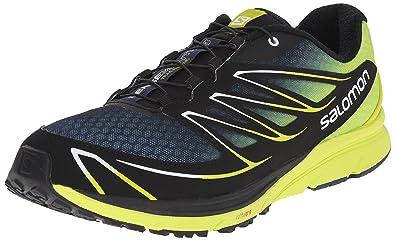 Salomon Men's Sense Mantra 3 Trail Running Shoes, Multicolor  (Slateblue/Gecko Green/