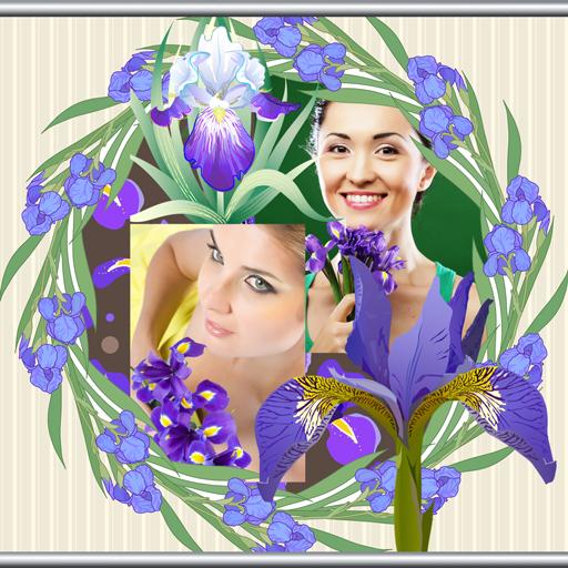 Iris Photo Collage Maker -
