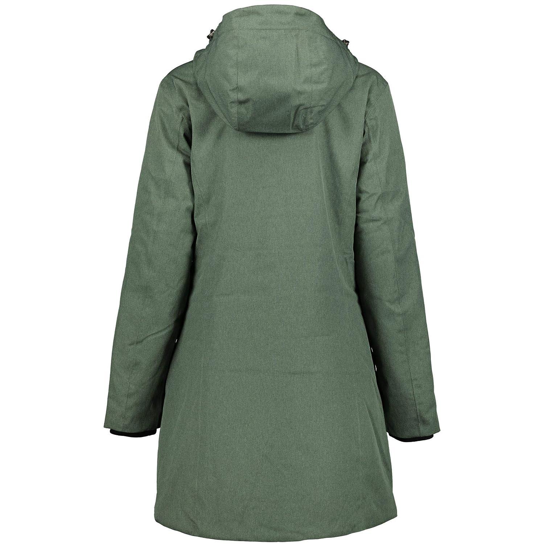 CMP Damen PFC Frei Wattierter Mantel Jacke 38Z2156