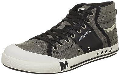 2bdaa5145c1c4 Merrell Rant Mid, Men's Lace-Up Hi-Top Trainer Shoes - Black, 7 UK ...