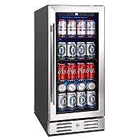 Kalamera 15-Inch Built-In Beverage Cooler