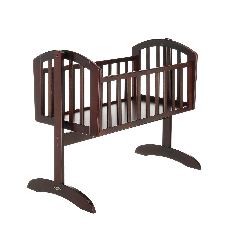 Obaby Sophie Swinging Crib and Mattress (Dark) 22OB0105MA