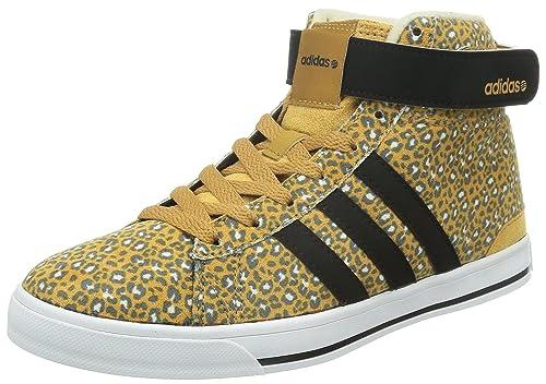 reputable site 10d11 af860 adidas Daily Twist Mid W, Zapatillas Deportivas para Mujer,  NegroMarrónBeige, 36 23 EU Amazon.es Zapatos y complementos