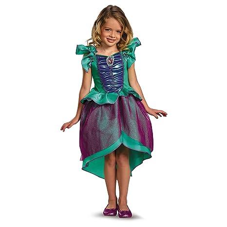 Vestido de carnaval chica traje Disney Princess Ariel sirena ...