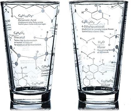Chemistry Beer Glasses