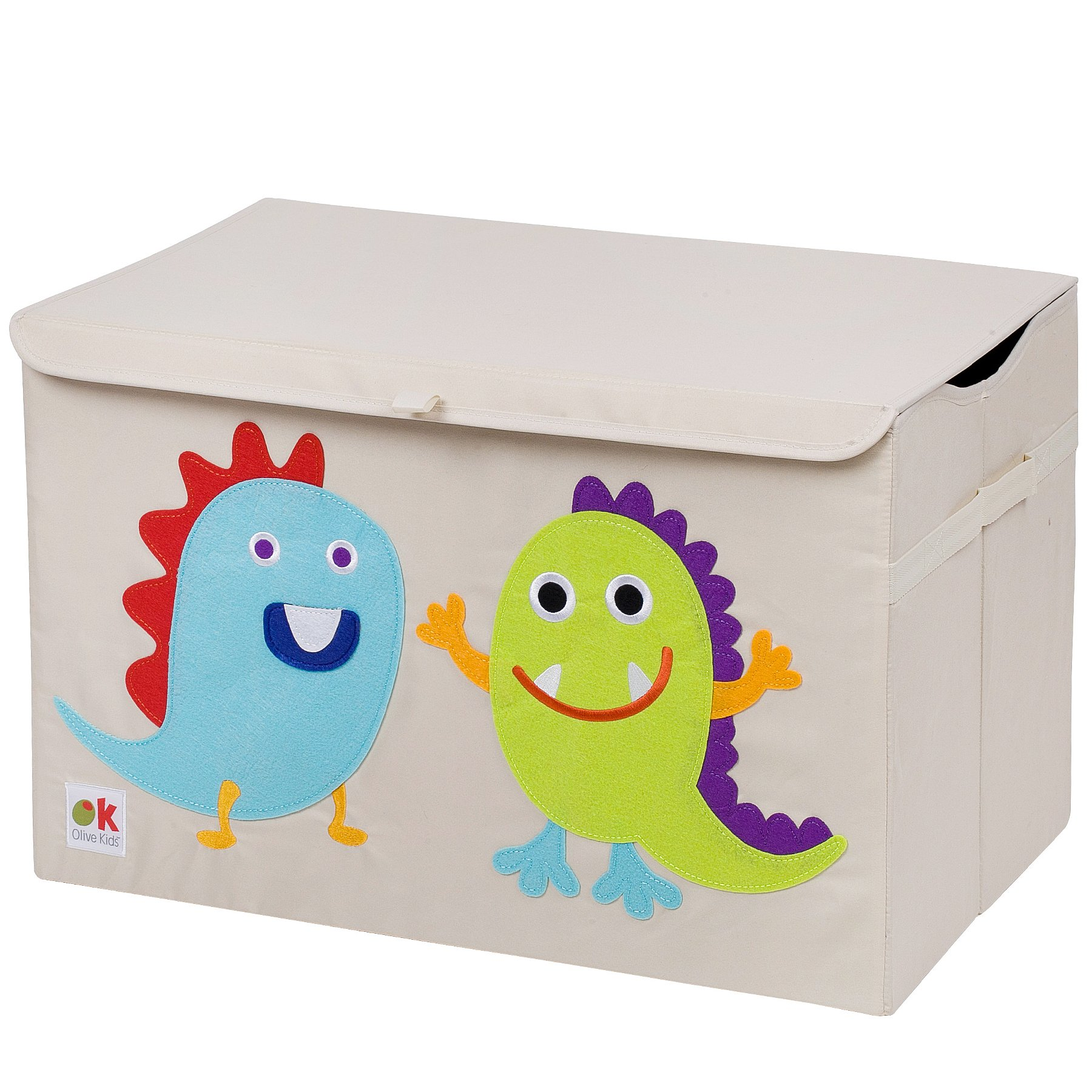 Wildkin Olive Kids Monster Toy Chest, One Size