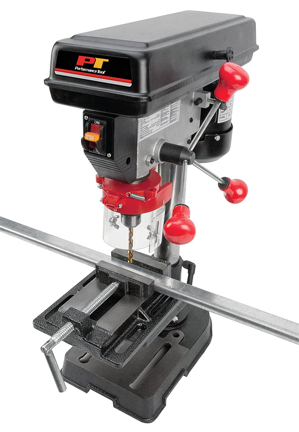 Performance Tool W50005 5 Speed 1//3-HP Bench Top Drill Press Weiss Tool Distributors PTW W50005