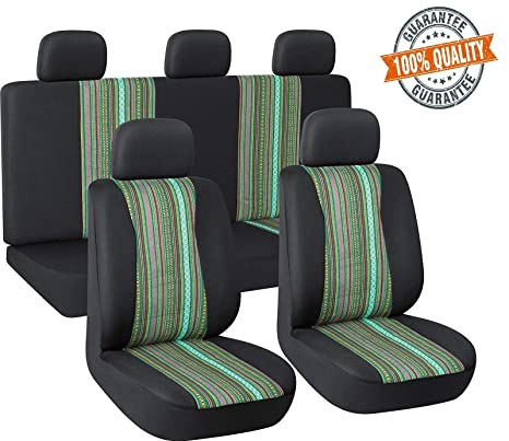 Autojoy Baja Blanket Car Seats Covers Universal Fit Stitching And Wear Resistant Car Seat Protector For Car Truck Suv