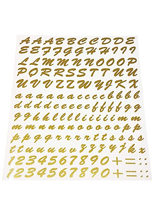 Quattroerre 1250 Kit Lettere Adesive Oro Amazonit Auto E Moto
