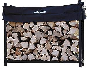 Woodhaven The 5 Foot Firewood Log Rack