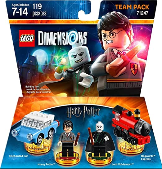 Warner Bros Lego Dimensions Harry Potter Team Pack Harry Potter Team Pack Edition Amazon Ca Computer And Video Games