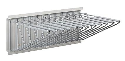 Amazon adir corp pivot wall rack with hangers for blueprints pivot wall rack with hangers for blueprints plans sand beige malvernweather Images