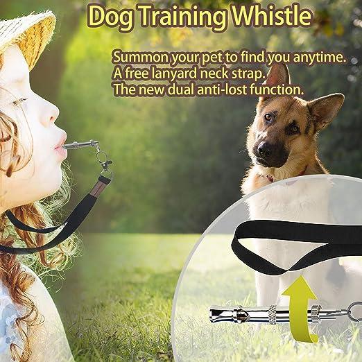 SRIVER Kit di addestramento per Cuccioli 6 Campane per Cuccioli Regolabili per Borsa da addestramento per Cani Fischietto per Smettere di abbaiare Ciotola per Cani e Borsa per Cacca