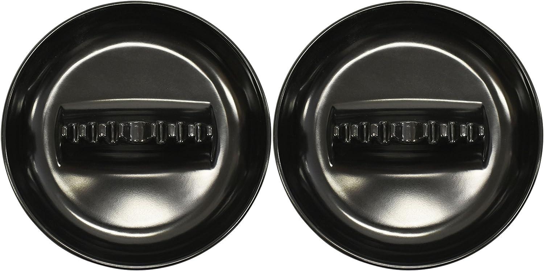 Set of 3 Plastic Black Duck Brand Set of 3 Butt Bucket Plastic Ashtray Assorted Colors 4-1//4 x 3