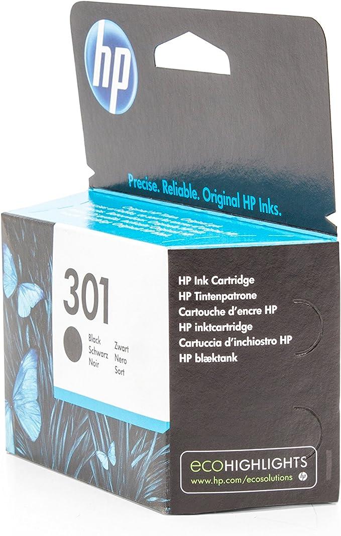 Hp 301 Ink Black Bürobedarf Schreibwaren