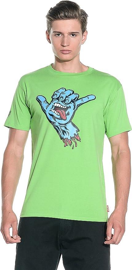 SANTA CRUZ T-Shirt Shaka Hand - Camiseta/Camisa Deportivas ...