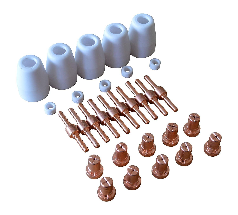 30 tlg. Zubehö r-Set fü r Plasmaschneider Verbrauchsmaterial CUT-40 GARTLER