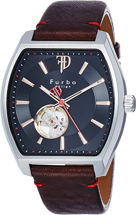 [フルボデザイン] 腕時計 F8201SBKBR メンズ ブラウン
