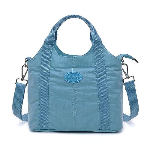 987cc7023f fanfanbags Borsa Donna Tracolla Piccola Postina Borse a Spalla in Nylon  Borsetta Tasca Crossbody Messenger Shoulder