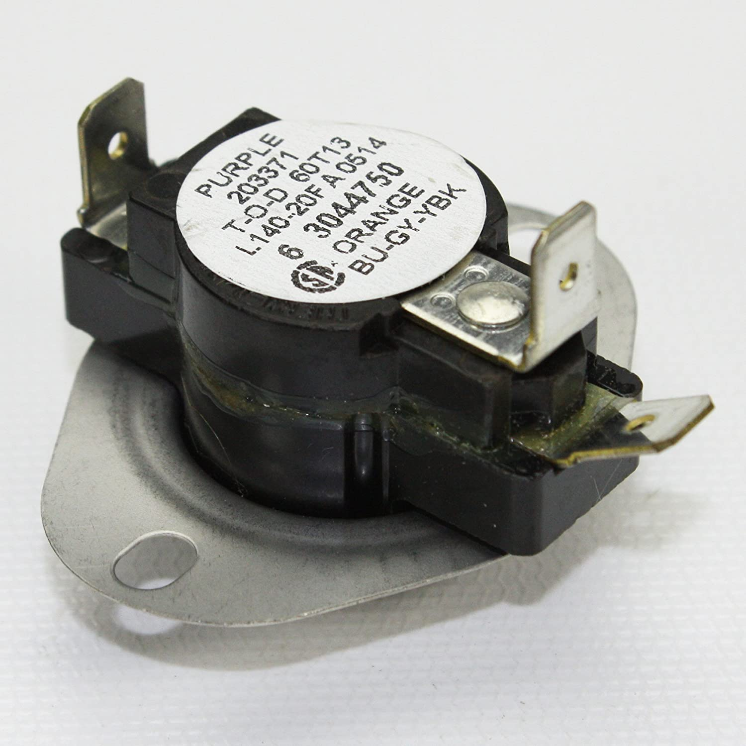 304475 Y304475 Dryer Thermostat For Maytag Parts Mde7400ayw Wiring Information From Appliances