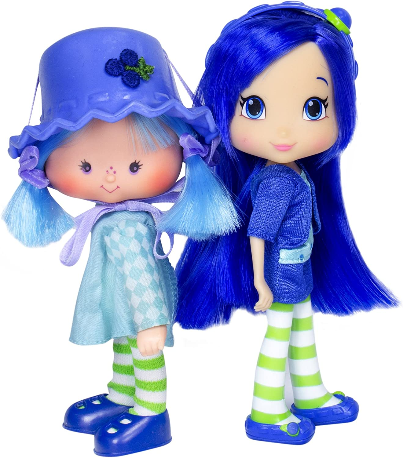 Amazon Com Strawberry Shortcake Blueberry Muffin Then Now Doll