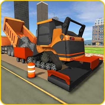 amazon com road builder city construction game heavy excavator