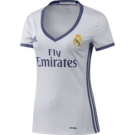 newest 9df88 01cc1 Amazon.com : Women's Real Madrid Home Jersey 2016/17 ...