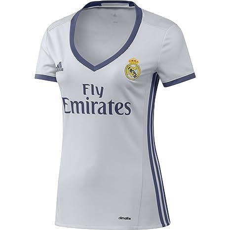 Adidas H JSY W Camiseta 1ª Equipación del Real Madrid CF 2015/16, Mujer