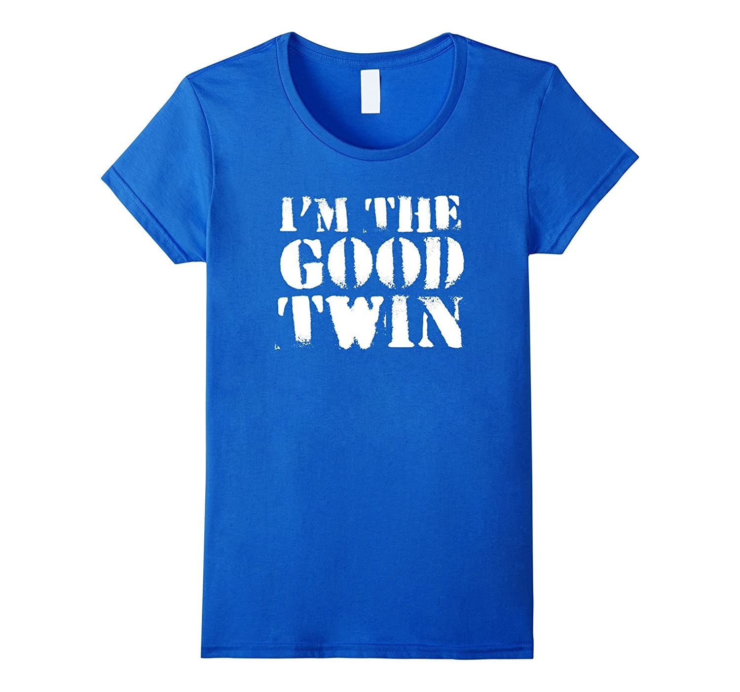 Im The Good Twin  Funny Halloween Horror Shirt