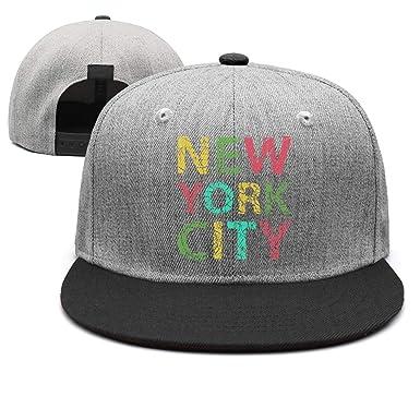 New York City Graphics Vector - Gorra de Visera Plana para Hombre ...