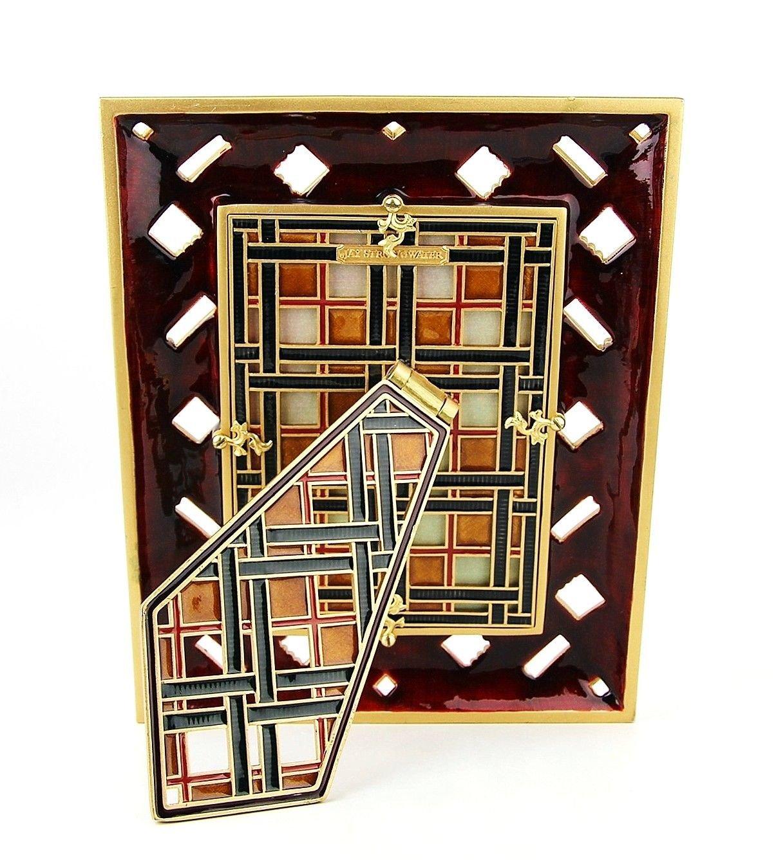 Amazon.de: Jay strongwater Highland Fling Plaid Rahmen 12, 7 x 17, 8 ...